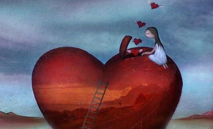 Mujer y corazón