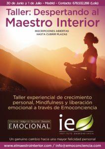 Cartel Maestro Interior