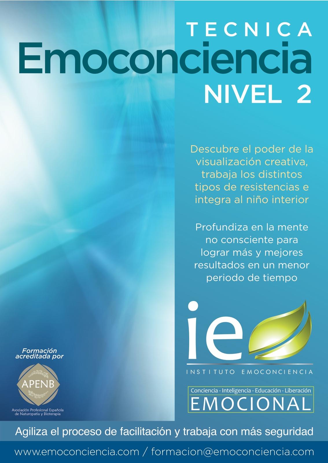 Cartel Técnica Emc 2 p - Técnica Emoconciencia - Nivel II