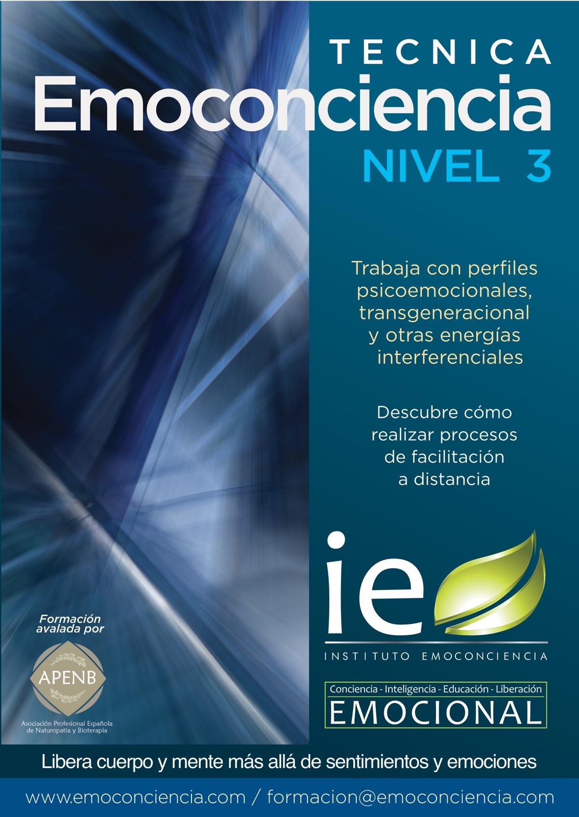 Cartel Técnica Emc 3 p - Técnica Emoconciencia