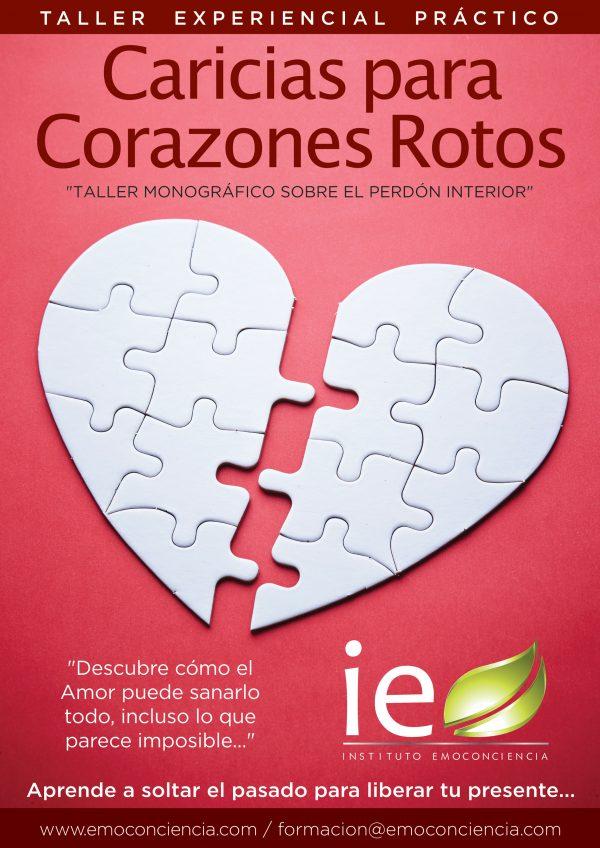 Cartel Caricias Corazones Rotos 600x848 - Caricias para Corazones Rotos