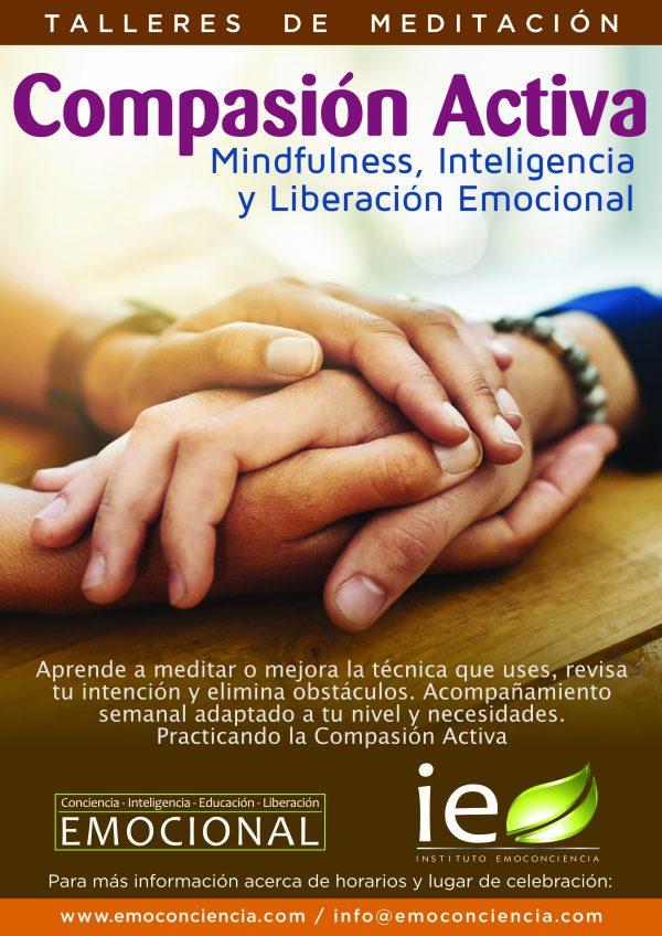Compasión Activa 600x848 - COMPASIÓN ACTIVA : Mindfulness, Inteligencia y Liberación Emocional